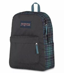 JanSport Superbreak Backpack Solstice Plaid