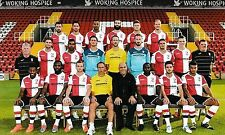 WOKING FOOTBALL TEAM PHOTO>2014-15 SEASON