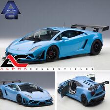 AUTOART 81359 1:18 LAMBORGHINI GALLARDO GT3 FL2 2013 BLUE SUPERCAR