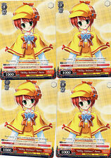 "LOT OF 4 WEIS SCHWARZ ""MILKY HOLMES"" NERO CARDS"