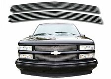 Polished Aluminum Billet Grill For 1994-1999 Chevy C/K 1500 2500 3500 New USA
