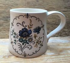 Pretty Vintage Purbeck Ceramics Cup/Mug/Swanage/Retro Floral/Kitsch