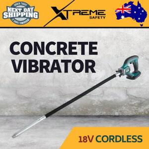 New MAKITA 18V Cordless Mobile Ergonomic Concrete Vibrator 13,000vpm, Skin Only