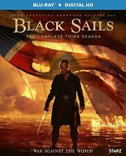 Black Sails The Complete 3rd Season Blu-Ray NEW Free shipping
