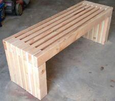 "Indoor Outdoor 72"" Bench Plans Diy Fast & Easy to build - 2x4 wood construction"