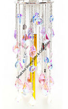KIRKS FOLLY GO ASK ALICE PASTEL CRYSTAL WIND CHIME ~ NEW RELEASE ~ White Rabbit