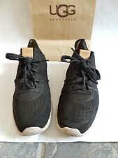 Original /WOMAN'S. UGG UGGS. Treadlite trainers size 7 or eu 40 black colour.