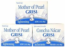 CLEAN STIMULATE NO SPOT SKIN WITH A 3 PACK GRISI MOTHER PEARL SOAP CONCHA NACAR
