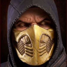 POP CULTURE SHOCK Mortal Kombat X Scorpion Bust 1:1 Scale Life size NEW