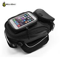 Motorcycle Motorbike Magnetic Oil Fuel Tank Bag GPS Phone Waterproof Saddlebag