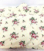 Vintage Ralph Lauren Flat Bed Sheet Queen Size Sophie Brooke Pattern Floral