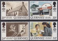 Guernsey 1990 Europa - Post Office Buildings Set UM SG486-9 Cat £1.90
