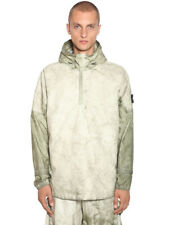 NEW: Stone Island Membrana Oxford 3L with Dust Colour Finish Jacket- LARGE-Beige