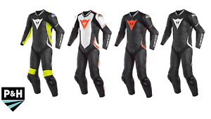 Dainese Laguna Seca 4 One Piece Perforated Leather Motorcycle Suit