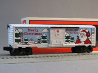 LIONEL 2018 CHRISTMAS BOXCAR O GAUGE train collector box car holiday 6-84747 NEW