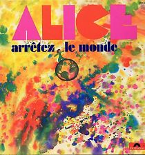 "ALICE ""ARRÊTEZ LE MONDE"" ORIG FR 1972 PROG M-"