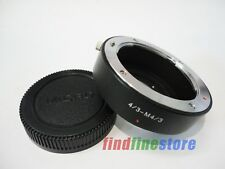 Olympus 4/3 Lens to Micro Four Thirds M4/3 Adapter E-PL3 E-PM1 G3 GH2 GF7 + CAP