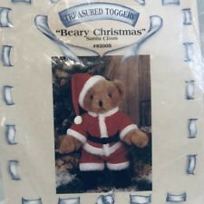 Tender Heart Treasures Treasured Toggery Beary Christmas Santa Claus Outfit 1990