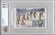 1927 Rud Starcke ICE HOCKEY #8 BVG 5.5 EX+ Vintage Hockey Card