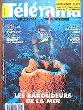 2118 ARCHEOLOGIE SOUS-MARINE GUITRY MYTHE TARZAN TRAINS DU MONDE TELERAMA 1990