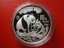 *China 10 Yuan  Panda 1993 Silber PP (1 Oz) * (Kof 3)