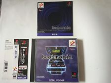 BEATMANIA SONY PLAYSTATION GAME VIDEOGAMES PS JAP JAPANESE PSX PS1
