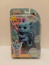 Fingerlings - Glitter Dragon - Tara Blue with Purple - Interactive Baby Pet New