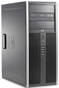 pc usato desktop computer tower fisso HP intel core 2 Duo Ram 4gb hdd 250 win10
