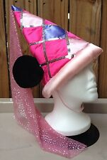 Princess Minnie Mouse Ears Hat Disney Parks Youth Costume Pink Sparkly Halloween