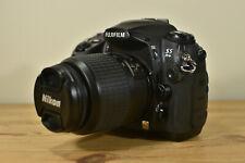 FUJIFILM S5 KIT fotocamera DSLR PRO CON BATTERIE CARICABATTERIE NIKKOR LENTE Cinturino 2GB CF