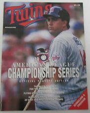 1991 ALCS Toronto Blue Jays vs. Minnesota Twins Kent Hrbek Cover  141484