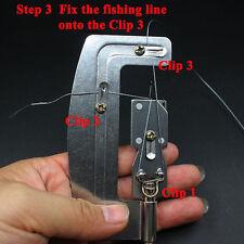 Angeln Linie Lagen um Haken zu binden Werkzeug - Schnur Knoten Werkzeug Gerät