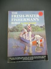 The Fresh-Water Fisherman'S Bible By Vlad Evanoff From 1964