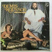 DEMIS ROUSSOS LP UNIVERSUM 33 GIRI VINYL ITALY 1979 PHILIPS 6303191 EX/EX