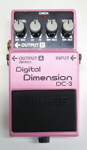 BOSS DC-3 Digital Dimension Guitar Effects Pedal 1988 MIJ #64 DHL Express or EMS