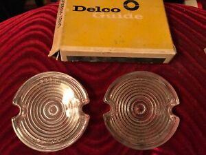 NOS 1959 Oldsmobile backup lens...glass...Guide.....Pair