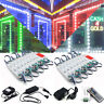 US 10'ft-100ft 5050 SMD 3 LED RGB Module Light Store Front Window Sign Lamp Kits