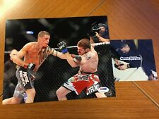 NATE DIAZ Auto Autograph Signed 8x10 Photo PSA/DNA Sticker MMA UFC *Proof Pic*