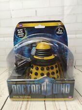 "Doctor Who Dalek Nero leader sec culto di incuriosirti NUOVA SERIE 3.75/"" Figura"