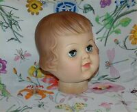 SAYCO DOLL - Baby doll head. Good condition