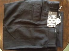 Junk De Luxe black mens trousers 31' 34L
