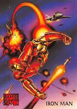 IRON MAN / 1995 Marvel Masterpieces (Fleer) Base Trading Card #53
