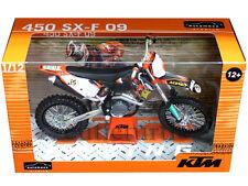 Automaxx 601501 2009 KTM 450 SX-F Red Bull Dirt Bike Motorcycle 1:12 Orange