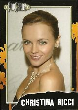 "Christina Ricci.  POPCARDZ #35 Trading Card. In Protective Sleeve ""Addams Family"