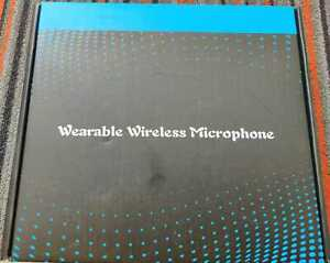 HEAD MOUNTED WEARABLE WIRELESS MICROPHONE TRANSMITTER RECEIVER 6.5MM ADAPTER