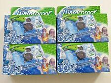 *4 Pack* Fujifilm QuikSnap Waterproof Camera (27 exp each)  EXP 4/2021