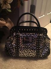 betseyville Purse Black And Silver