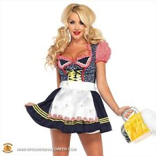 NEW Leg Avenue Beer Stein Babe Costume Large Sexy German Oktoberfest Style 85220