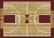 "4x6 Milliken Iowa State Cyclones NCAA Home Court Area Rug - Approx 3'10""x5'4"""