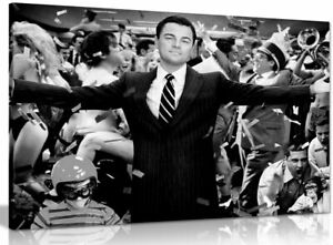 Wolf Of Wall Street Leonardo Dicaprio Canvas Wall Art Picture Print